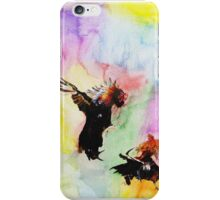 Cockfighting iPhone Case/Skin