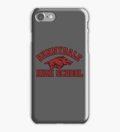 Sunnydale High Razorbacks iPhone Case/Skin