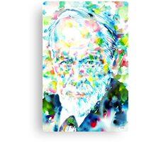 SIGMUND FREUD - portrait.1 Canvas Print