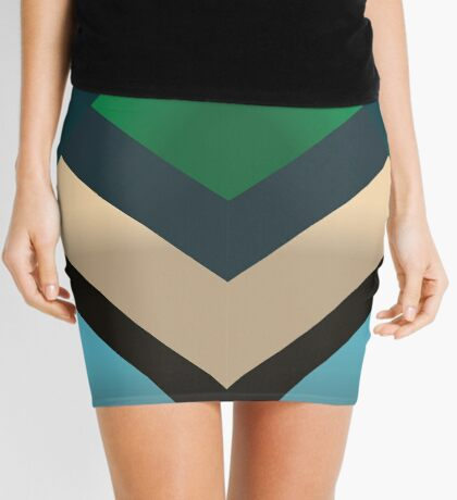 Sacred Geometry Mini Skirt