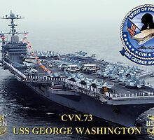 CVN-73 USS George Washington by Mil Merchant