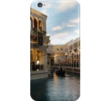 It's Not Venice - Canal Light Path iPhone Case/Skin