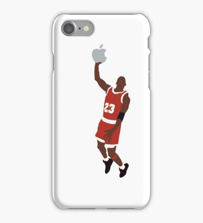 Michael Jordan dunking an Apple iPhone Case/Skin