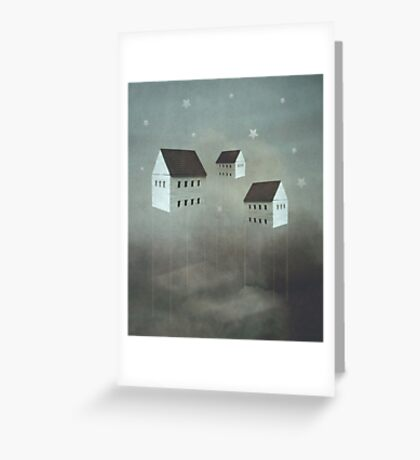 Architecture of Dreams Greeting Card