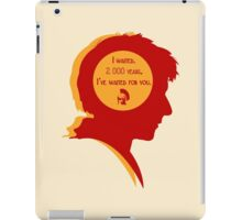 Rory silhouette iPad Case/Skin