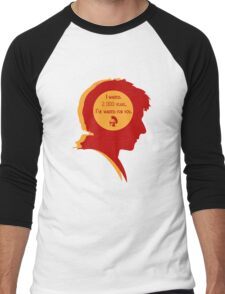 Rory silhouette Men's Baseball ¾ T-Shirt