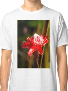 Red Flower - Macro Photography Classic T-Shirt