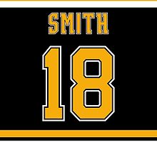 Boston Bruins Reilly Smith Jersey Back Phone Case by Russ Jericho