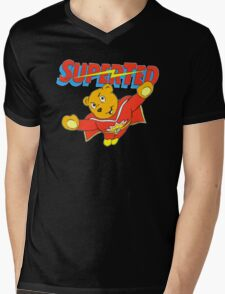 Super Ted Mens V-Neck T-Shirt