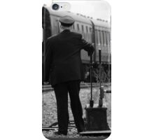 Trains Changing the points iPhone Case/Skin