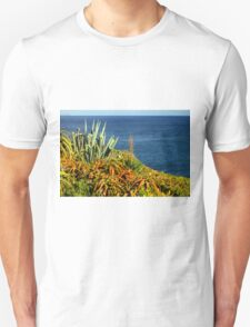 Cypress Sea Coast - Nature Photography T-Shirt