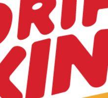 Drift King - sticker Sticker