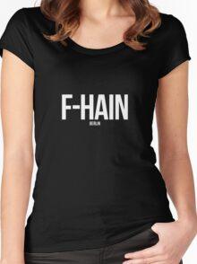 (Friedrichshain) F-hain, Berlin Women's Fitted Scoop T-Shirt