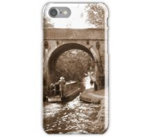 Canal Narrow Boat iPhone Case/Skin