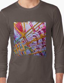Love Grunge Texture Long Sleeve T-Shirt