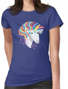 completely love this unicorn Womens Fitted T-Shirt