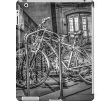 Parking Lot of Bicycles iPad Case/Skin