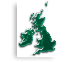 Great Britain  Map Canvas Print