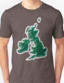 Great Britain  Map Unisex T-Shirt