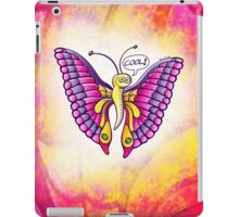 Coolorful Butterfly iPad Case/Skin