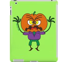 Frightening Halloween Scarecrow Emoticon iPad Case/Skin