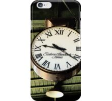 Time Stands Still... iPhone Case/Skin
