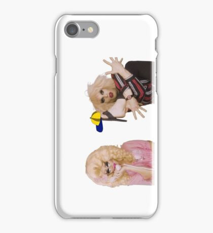 Katya Zamolodchikova and Trixie Mattel (UNHhhh) iPhone Case/Skin