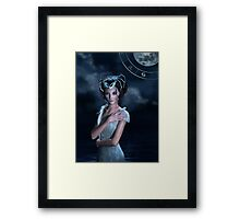 Cancer zodiac fantasy circle Framed Print