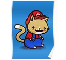 It's-a-me! Meow-rio! Poster
