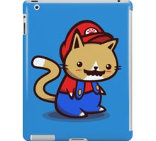 It's-a-me! Meow-rio! iPad Case/Skin