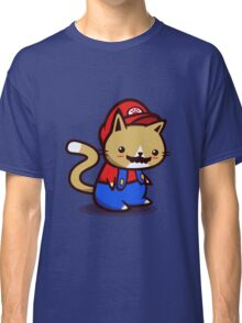 It's-a-me! Meow-rio! Classic T-Shirt