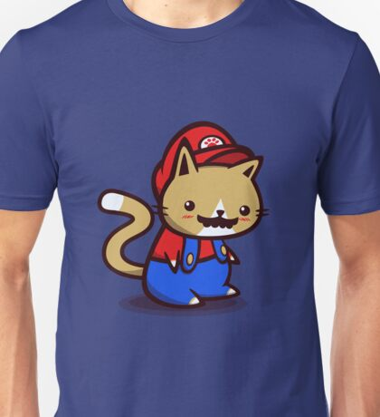 It's-a-me! Meow-rio! Unisex T-Shirt