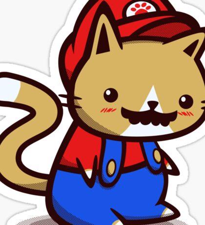 It's-a-me! Meow-rio! Sticker