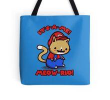 It's-a-me! Meow-rio! (Text ver.) Tote Bag