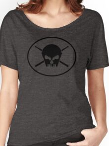 Music skull Women's Relaxed Fit T-Shirt