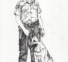 K-9 by Paul  Nelson-Esch