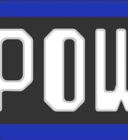 POW Block Sticker
