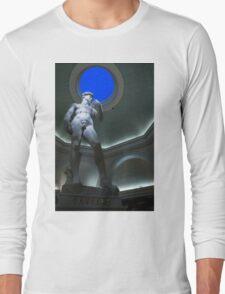 Michelangelo's David Long Sleeve T-Shirt
