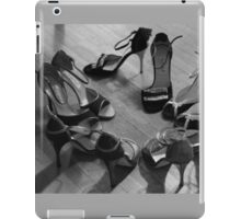 Comme il faut, tango dancing shoes, b & w iPad Case/Skin