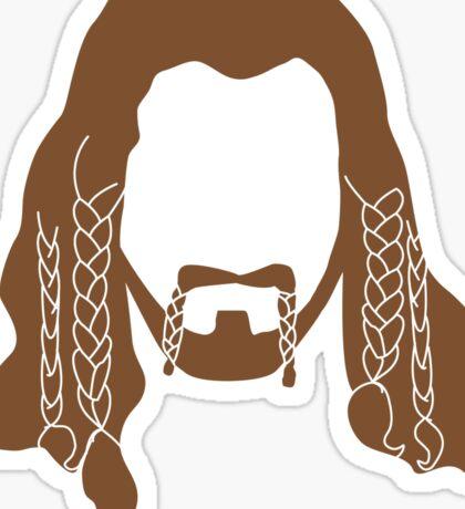Fili's Beard Sticker