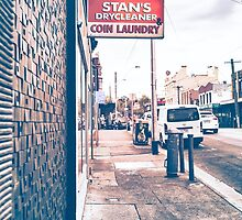 Stan's Dry Cleaners & Coin Laundry by jamespaullondon