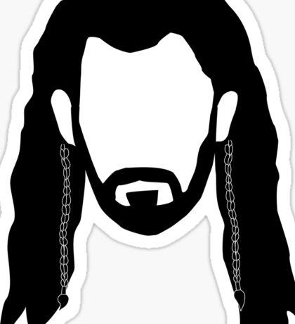 Thorin's Beard Sticker