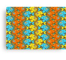 Something is Nicely Fishy Here! Canvas Print