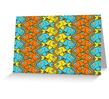 Something is Nicely Fishy Here! Greeting Card