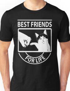Cat best friends for life christmas shirt Unisex T-Shirt
