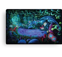 Dark tales from the forest   Canvas Print