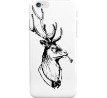 Stag 506 (With Pipe) iPhone Case/Skin