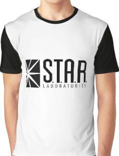STAR LABS - LABORATORIES - Black Graphic T-Shirt
