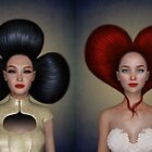 Card Queens Portrait Quartett by Britta Glodde