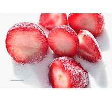 Strawberrylicious Photographic Print
